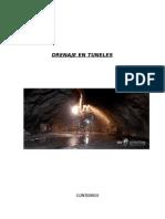 Drenaje en Tuneles, metodos de drenaje en tuneles