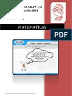 Contenido Tema 1 Matemáticas