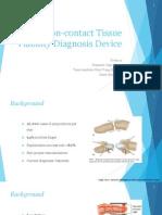 non-contact tissue viability diagnosis device