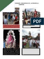 Principales Festividades Religiosas de La Region La Libertad