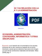 1. La Economia y Su Rel Con La Contaduria y Admon Cuardenoo
