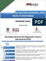 Presentación Final PGI Plataforma