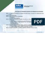 Cambio de Direccion Fiscal de Sociedad Patente de Comercio de Sociedad