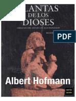 Albert Hofmann - Planta de Los Dioses RESPALDO