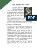 Proteinas Totales y Albumina