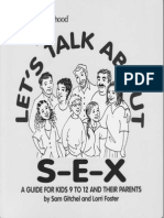 Let's Talk About S-E-X (Sex Education for Teens)