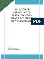 Evolución del periodismo participativo en España