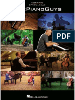 The Piano Guys Sheet Music Book