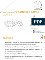 Clase 5 Movimiento Armónico Simple