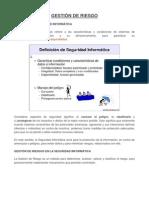 GESTIÓN DE RIESGO (Computacion)