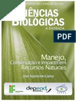 manejo, conservação e impacto em recursos naturais