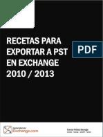 Exportando PST