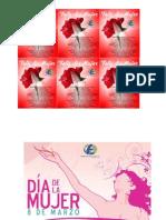 Postales Del Dia de La Mujer