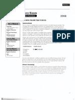 AP 2008 Exam