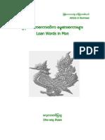 Loan Words in Mon
