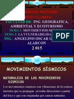 Clase Magistral 2015 - Movimiento Sismico
