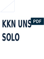 Kkn Uns Solo