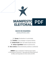 Manifesto Leg is Lativ as 2015 Be