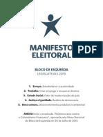 Manifesto Leg is Lativ as 2015 Be