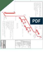 projeto rede de hidrante ascendente