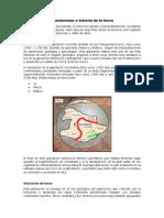 Relación de Las Glaciaciones e Historia de La Tierra