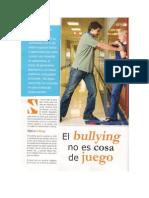 Bullying No Es Jueo