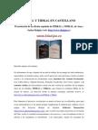 Presentacion PIHKAL y TIHKAL en Español