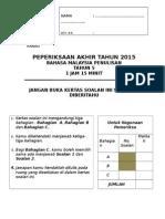 Cover Peperiksaan Akhir Tahun Skbtr