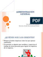 Sis-Administración General Ppt 1-11th