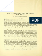 The Doctrine of the Mithraic Mysteries.pdf