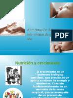 Alimentacion Del Niño Primer Año CURSO