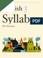 Spanish 3 Syllabus