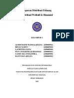Laporan PDSDistribusi Binomial Weibull Kelompok1