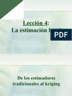 Leccion4 - Estimacion Local