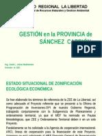 Informe de Gestion en Sanchez Carrion 1-9-2011