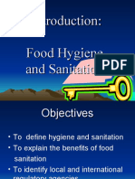 Introduction to Food Hygiene and Sanitation