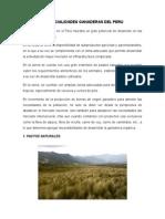Potencialidades Ganaderas Del Peru