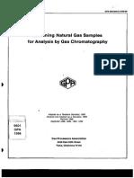 GPA 2166 86 Sampling Gas
