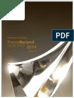 Memoria Ceremonia de Entrega PNC 2014