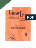 codigo civil mexico Tomo IV - Libro Cuarto - i Parte - De Las Obligaciones - PDF