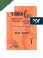 codigo civil mexico Tomo v - Libro Cuarto - II y III Parte - de Los Contratos - PDF