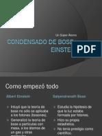 Condensado de Bose -Einstein