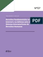 Derechos Fundamentales en Internet y Su Defensa Ante El Sistema Interamericano de Derechos Humanos