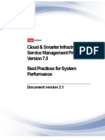 Best Practices for System Performance 7.5.x
