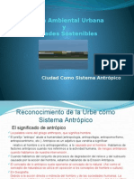 Gestión Ambiental Urbana y Ciudades Sostenibles