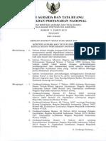 PERMEN Agraria No. 5 Tahun 2015 Ttg Izin Lokasi 280415