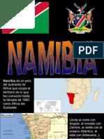 Namibia Es Un País Del Sudoeste De