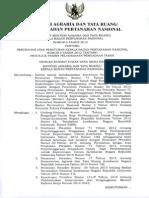 PERMEN Agraria No.6 Tahun 2015 Ttg Perubahan Permen Agraria 6 Thn 2012 Ttg Petunjuk Teknis Pelaksanaan Pengadaan Tanah 280415