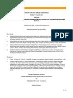 UU No.9 Tahun 2015 Ttg Perubahan Kedua Atas Uu 23 Thn 2014 Ttg Pemda