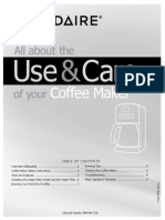 Frigidaire Coffee Maker Fpdc12d7ms User Manual